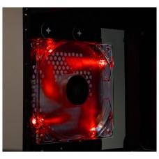 Talius - Ventilador caja 12CM - FAN-01 - LED Rojo (Espera 3 dias)