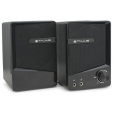Talius altavoz SPK-2001 USB 2.0 black (Espera 3 dias)