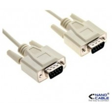 CABLE SERIE NULL MODEM DB9/M-DB9/M 1.8 M NANOCABLE