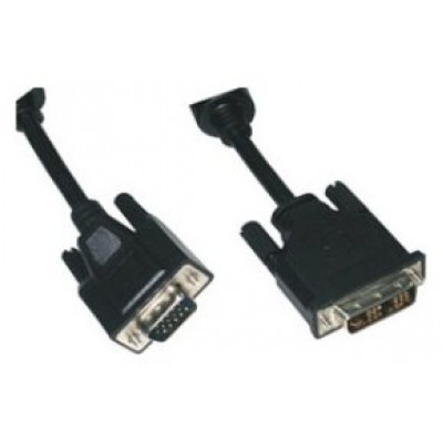 CABLE DVI A VGA, DVI 18+5/M-HDB15/M 3M NANOCABLE