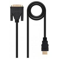 CABLE DVI A HDMI DVI18+1/M-HDMI A/M 1.8 M NANOCABLE