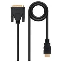 CABLE DVI A HDMI DVI18+1/M-HDMI A/M 3.0 M NANOCABLE