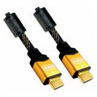 CABLE HDMI V1.4 (ALTA VELOCIDAD / HEC) CON FERRITA