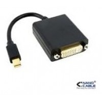 CONVERSOR MINI DP DVI SINGLE LINK MINI DP/M-DVI/H