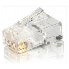 KIT 100 CONECTORES RJ45  EQUIP CATEGORIA 5e  121140