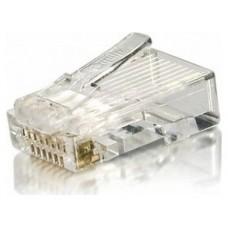 KIT 100 CONECTORES RJ45 EQUIP CATEGORIA 6   121143