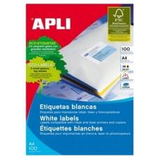 ETIQUETAS APLI A4 52.5X21.2MM