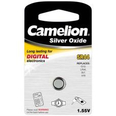 Boton Oxido plata SR44W 1.55V 0% Mercurio (1 pcs) Camelion