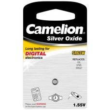 Boton Oxido plata SR63W 1.55V (1 pcs) Camelion