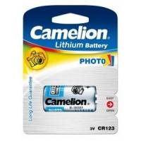 Litio CR123A 3V (1 pcs) Camelion