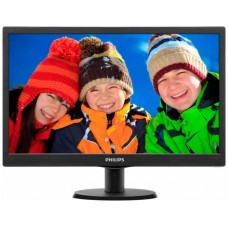 Philips 193V5LSB2 Monitor 18.5 LED  16:9 5ms VGA