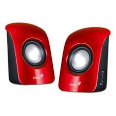 Genius SP-U115 1W Rojo altavoz
