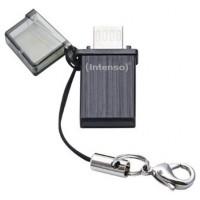 USB 2.0 INTENSO 16GB MINI LINE NEGRO