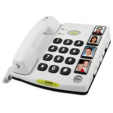 Doro Secure 347 Analog telephone Color blanco