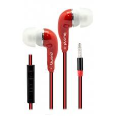 Auriculares + Micro MixSou Talk+ Rojo Biwond