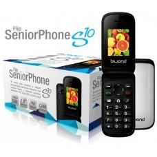 Biwond S10 Dual SIM+Camara+Bluetooth+Radio Flip SeniorPhone Blanco
