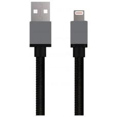 Cable USB a Lightning 8 Pines (Carga & Transferencia) Piel 1m Biwond