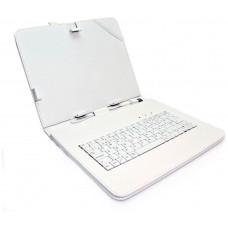 """Funda Tablet Teclado 8"""" Blanca"""
