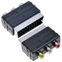 Adaptador Euroconector SCART/RCA