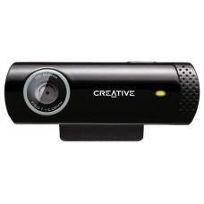 Creative Labs Live! Cam Chat HD 1280 x 720Pixeles USB 2.0 Negro cámara web