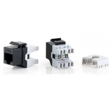 KIT 8 UDS CONECTOR HEMBRA RJ45 UTP CAT6 PANEL KEYSTONE