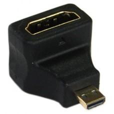 ADAPTADOR HDMI-MicroHDMI 90º BIWOND, A/H-MICRO HDMI D/M