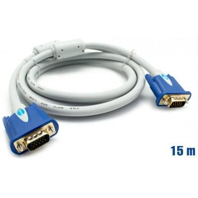 Cable VGA 28AWG M/M 15m BIWOND