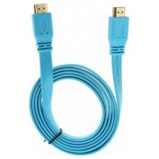 Cable Plano Ultra HDMI 4K 1.5m Azul Biwond