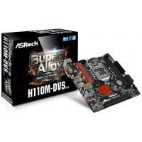 Asrock H110M-DVS R3.0 Intel H110 LGA 1151 (Zócalo H4) Micro ATX