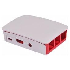 RASPBERRY Caja para Raspberry Pi 3 Oficial, Rojo y blanco