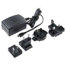 RASPBERRY FUENTE DE ALIMENTACION MICRO USB 5V 2.5A - NEGRO - PARA RASPBERRY PI 3 - EU/UK (1235272)