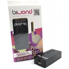Power Bank 5600mAh Negro Biwond