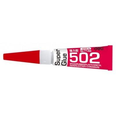 Super Glue 502 Deli 3g Cyanocrylate