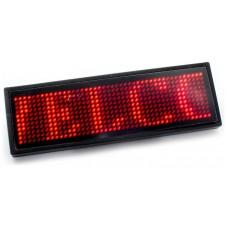 Placa Anuncio Texto Led Rojo