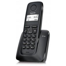 TELÉFONO INALÁMBRICO SIEMENS-GIGASET A116 NEGRO