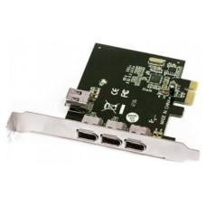 TARJETA PCIE FIREWIRE 3 PUERTOS IEEE1394 + 1P INTERNO