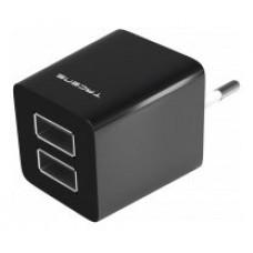 CARGADOR USB TACENS ANIMA AUSB1 2 PUERTOS USB DE 2.1A