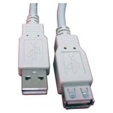 CABLE ALARGADOR USB 2.0 3 MTS CAB-SB-1230 (Espera 3 dias)