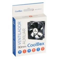 VENTILADOR CAJA ADICIONAL  9X9 COOLBOX 90MM 3-PIN