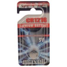 Maxell  PILA BOTON LITIO CR1616 3V BLISTER*1 EU