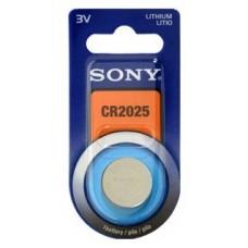 Blister 1 pila  Sony CR2025 Litio ( 20 d . x 2.50 alt (Espera 3 dias)