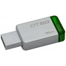 PEN DRIVE 16GB KINGSTON USB3.0 DATATRAVELER50 VERD