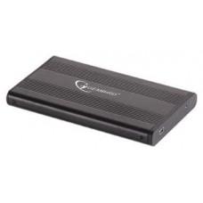 "Gembird EE2-U2S-5 Disco duro portátil 2.5"" Negro recinto de almacenaje"