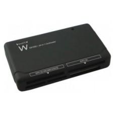 EWENT EW1050 Lector Tarjetas 64 en 1 USB 2.0
