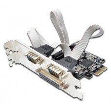 EWENT EW1158  PCI Express 1x parallel, 2xserial