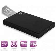 """EWENT CARCASA HD 2.5"""" USB 3.1 EW7044"""