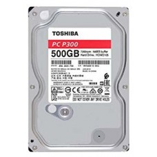 "DISCO DURO 3.5"" TOSHIBA 500GB P300 SATA3 7200RPM 64MB 6G"