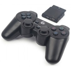 Gembird JPD-WDV-01 Gamepad PC,Playstation 2,Playstation 3 Negro mando y volante