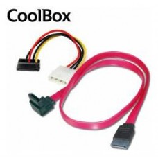 KIT CABLES ACODADOS COOLBOX CAJA T450 (SATA.