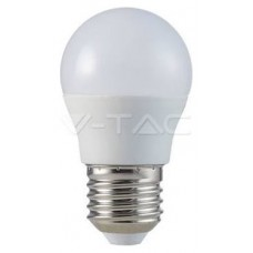 BOMBILLA LED E27 G45 V-TAC  5,5W>>40W LUZ CALIDA